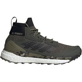 adidas TERREX Free Hiker Wanderschuhe Herren khaki/black